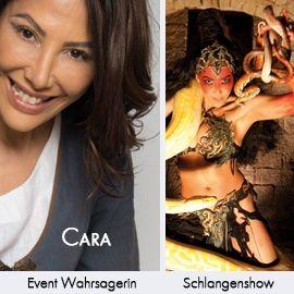 Cara Wahrsagerin für Events / Schlangenshow