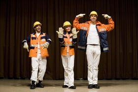 Arbeitssicherheitstheater Bühnenshow zur Arbeitssicherheit bei RWE Power