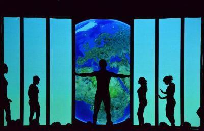 Schattentheater - Weltreise Die Mobilés Weltreise für nationale und internationale Anlässe