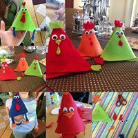 Die verrückten Hühner sind los Zu Ostern waren wir auf 10 Schiffen der A-ROSA Flusskreuzfahrt Flotte mit dem Kids Club an Bord vertreten.