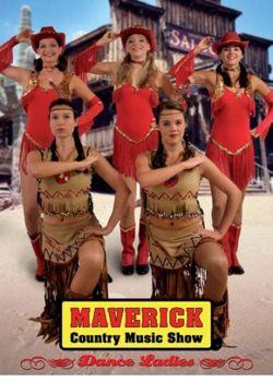 Saloongirls Ob als mystische Indianerinnen, freche Cowgirls oder als stilechte Saloondamen im Can Can Kostüm; die Dance Ladies geben der Maverick Band den ganz besonderen Kick. Auch im Pettycoat oder als gefeiertes Cheerleader Team: ein Leckerbissen für die Augen. Während die Maverick Band den einheizenden Soundtrack für diese einmalige Show liefert. Freuen Sie sich auf dieses ergreifende Spektakel und erleben Sie ein Event von dem man noch lange schwärmen wird.