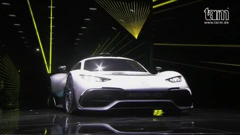 World Premiere Mercedes-amg Project One