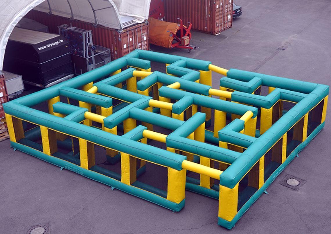 Der mobile Irrgarten Mieten Sie jetzt das aufblasbare Labyrinth für Ihre Veranstaltung.