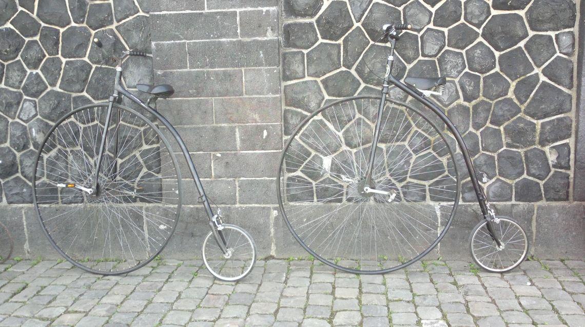 Hochräder für Ihre Schaufenster-Dekoration