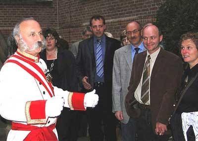 """Kaiser Franz im KrimiDinner """"Diplomatenjagd"""" Kaiser Franz im KrimiDinner """"Diplomatenjagd"""""""
