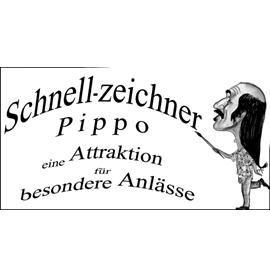 Pippo Karikaturen - Portraits - Malerei