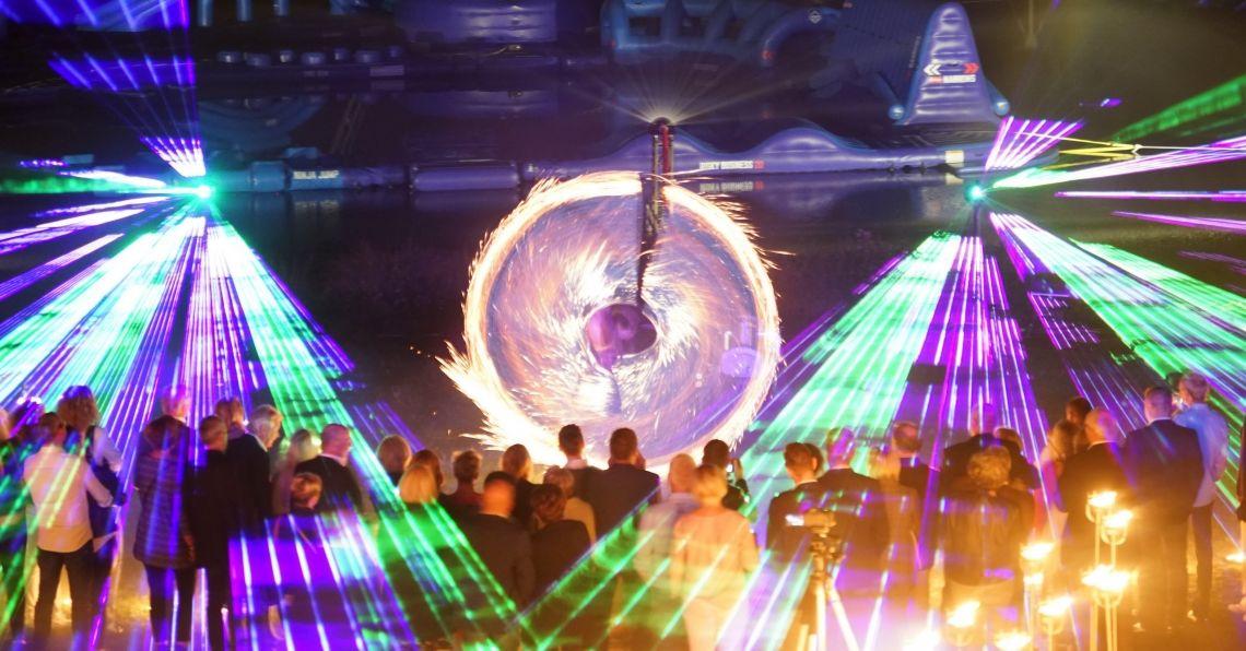 CB Feuer und Laser