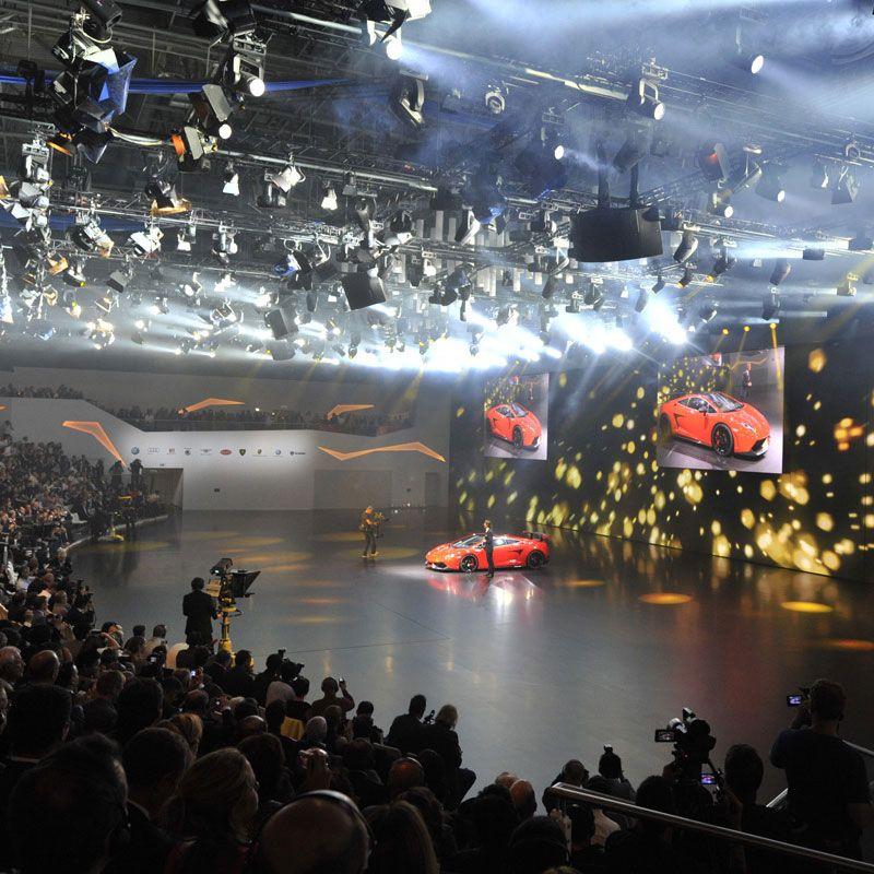 Lamborghini Volkswagen Group Night