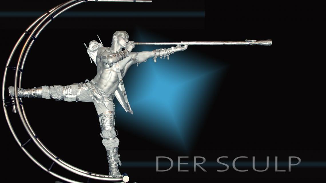 Der Sculp - futuristisches Didgeridoo