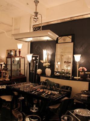 Art Deco Möbel und Leuchten in großer Auswahl