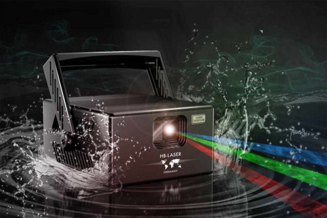 LightCube Extreme 851 IP68 Lasersystem für extreme Umweltbedingungen RGB bis 14W , IP68 Wasserdicht, für Anwendungen in agressiven Umgebungen Bergwerke, Springbrunnen, Schwimmbäder, Outdoor -20 bis +50°