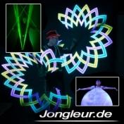 Volker Maria Maier Laserman - LED-Jonglage - Feuershow