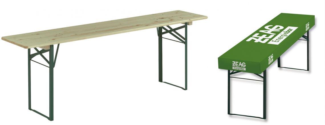 patideCLASSIC mit der patenten Ecke Nicht nur für Biertische, sondern für alle rechteckigen Tischformate geeignet. Konfektioniert mit Biegelinien und Klettverschlüssen. patide ist wasserfest, abwaschbar und bleibt formstabil. Auch für den dauerhaften Gebrauch geeignet.