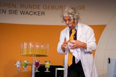 Magier Hellorder als Prof. Dr. Silencium