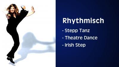 Stefanie Rummel: Mitreißende Rhythmen: Irish Tap, American Step Dance  Stefanie Rummel, www.One-Woman-Show.de Foto: Jörg Ladwig