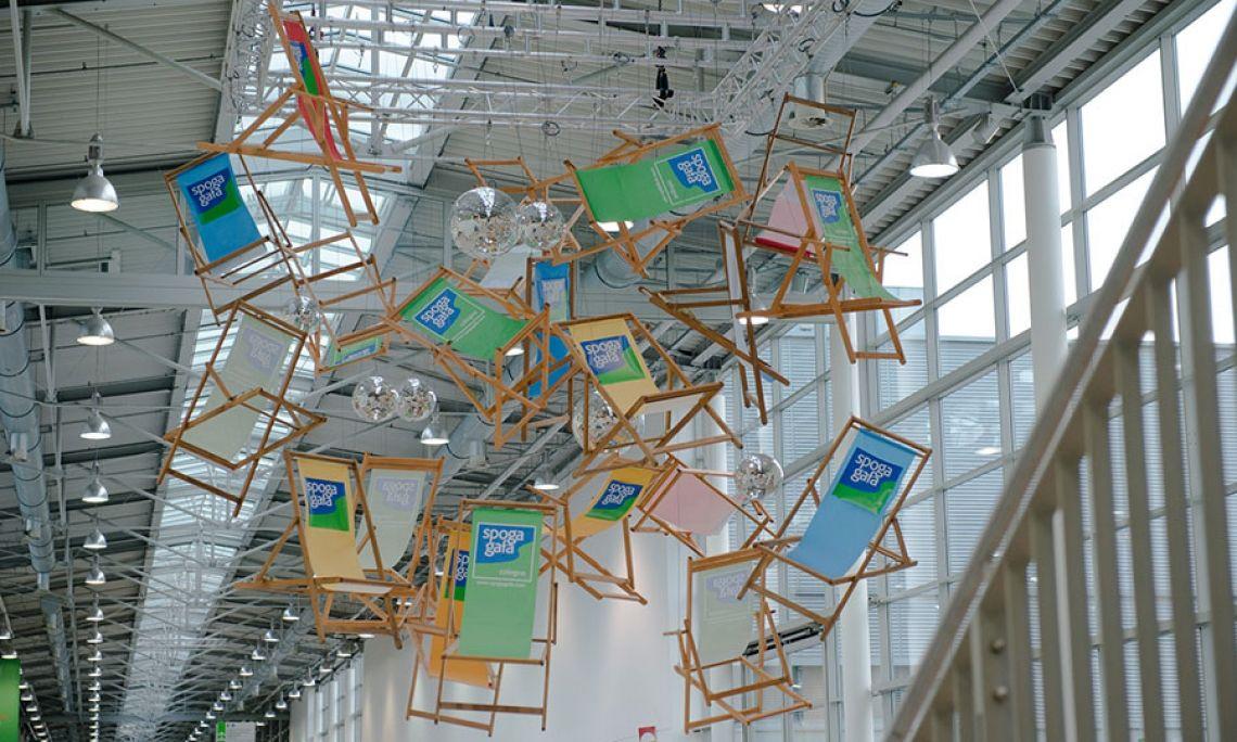 Dekoration Raumgestaltung: Fliegestühle
