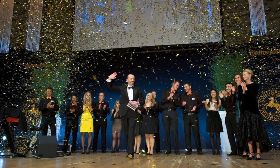 Jubiläumsgala Continental Stimmungsvolles Fest im Kuppelsaal des ICC Hannover