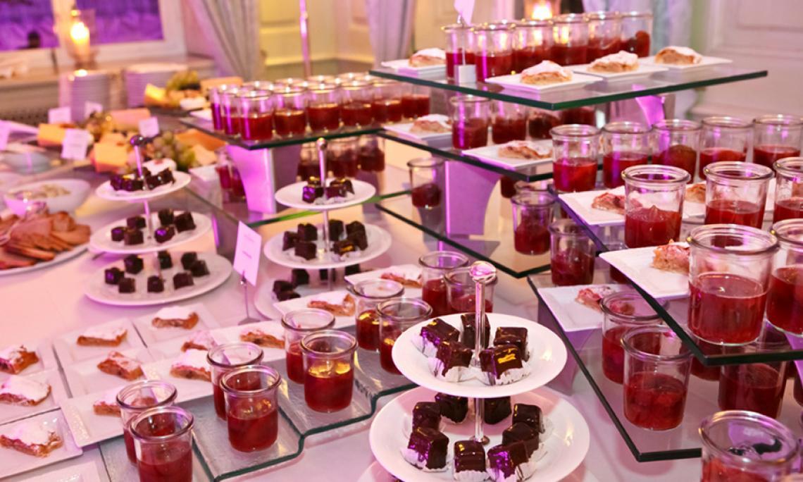 Unser Liebe zum Event geht durch den Magen Ausgewählte Catering-Partner sorgen für Genuss-Momente ohnegleichen