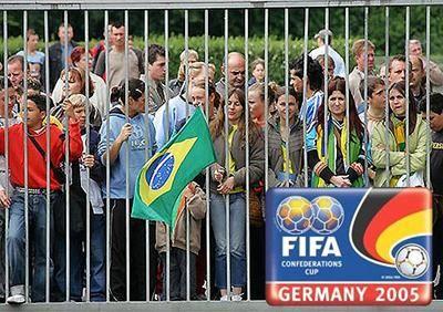 FIFA Confederations Cup FIFA Confederations Cup 2005: Securitas Sport & Event GmbH sichert im Rahmen des Confederation – Cups ™, das Trainingslager der Brasilianischen Nationalmannschaft ab.