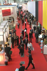 2008 Record Attendances: 3,684 hosted buyers from 58 countries, 8,751 visitors from 97 countries, 3,500 exhibitors from over 150 countries.