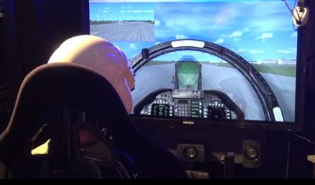 Full Motion Flight-Simulator / Flugsimulator / Virtual Reality Flugsimulator / Flugsimulator mieten