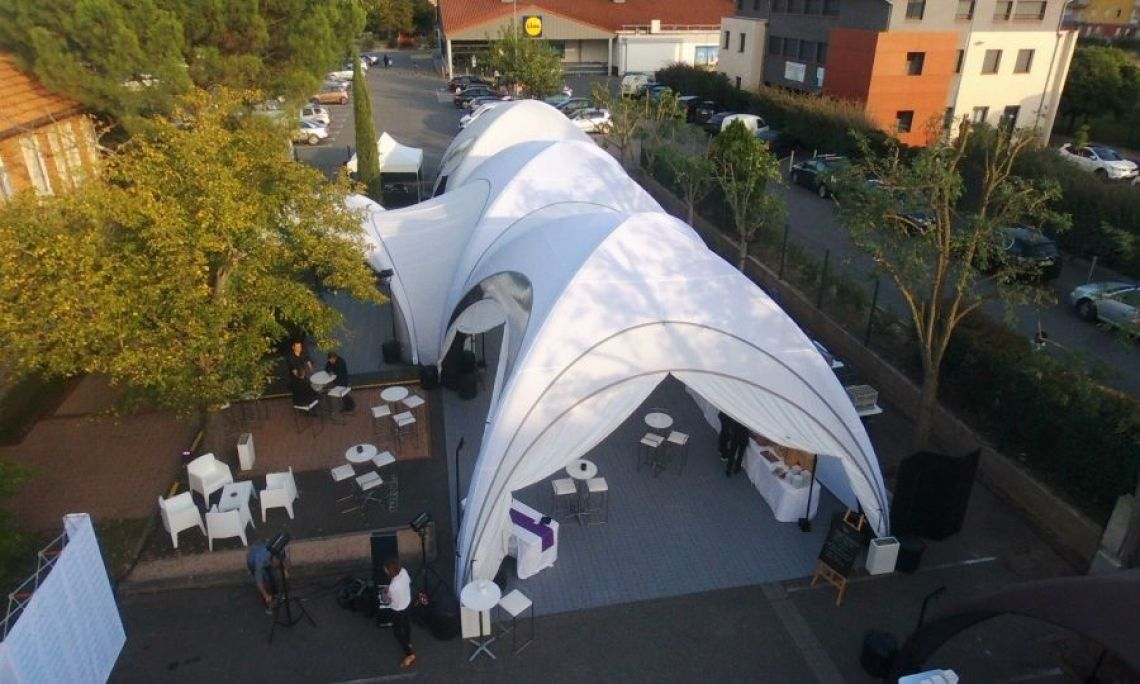 X GLOO shaping air - Tents for events