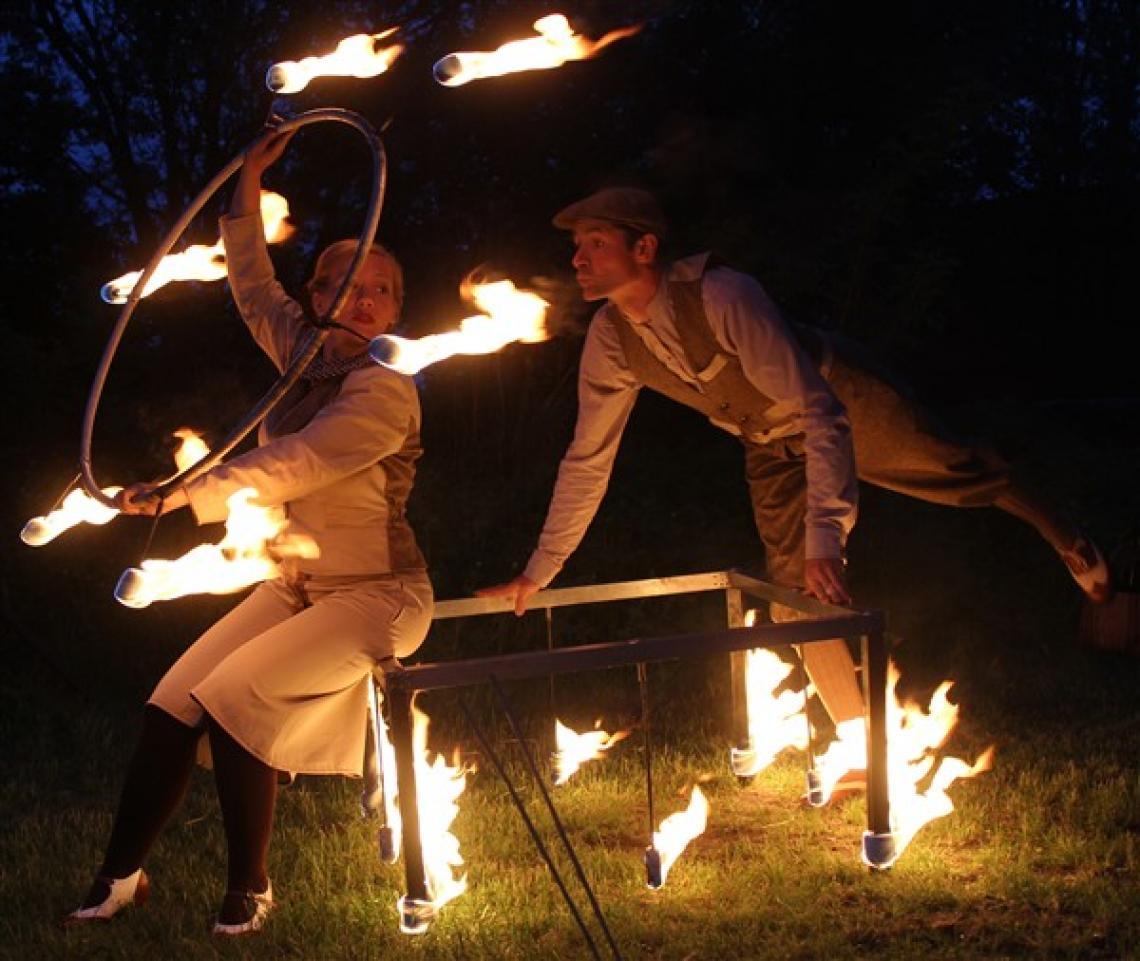 Voyage d`Ardeur Feuertheater