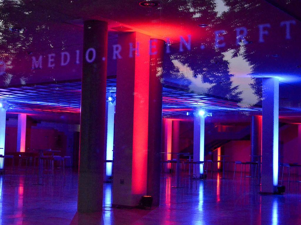MEDIO.RHEIN.ERFT Kulturfoyer von außen