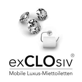 exCLOsiv® Ltd. Die Miet-Toilette der Königsklasse
