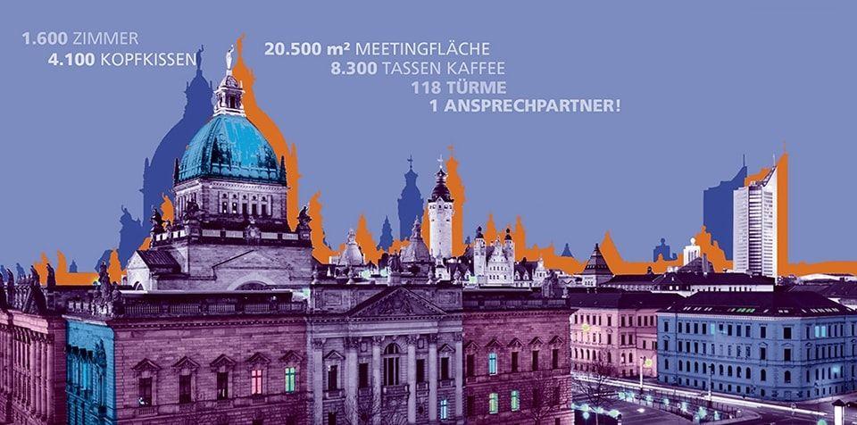 Tagen und Übernachten in Leipzig Wenn Sie eine Tagung oder eine Konferenz planen, finden Sie bei uns die gewünschten Übernachtungs- und Tagungskapazitäten.