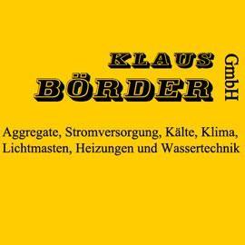 Klaus Börder GmbH Niederlassung Hamburg