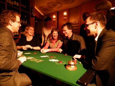 Entertainment-Falschspiel & Zauberkunst