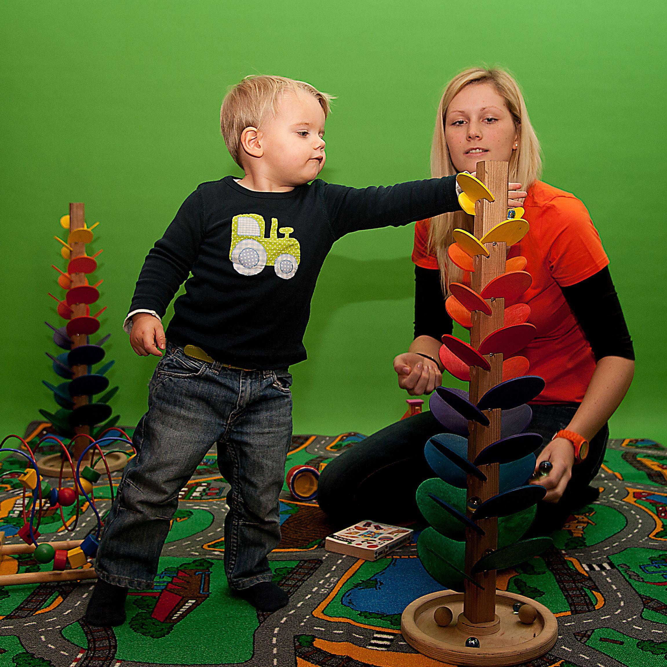 Auch für die ganz Kleinen haben wir immer spannendes Spielzeug dabei.