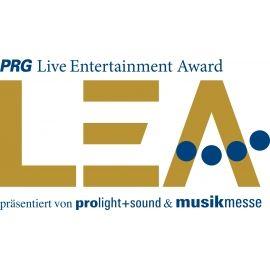PRG Live Entertainment Award