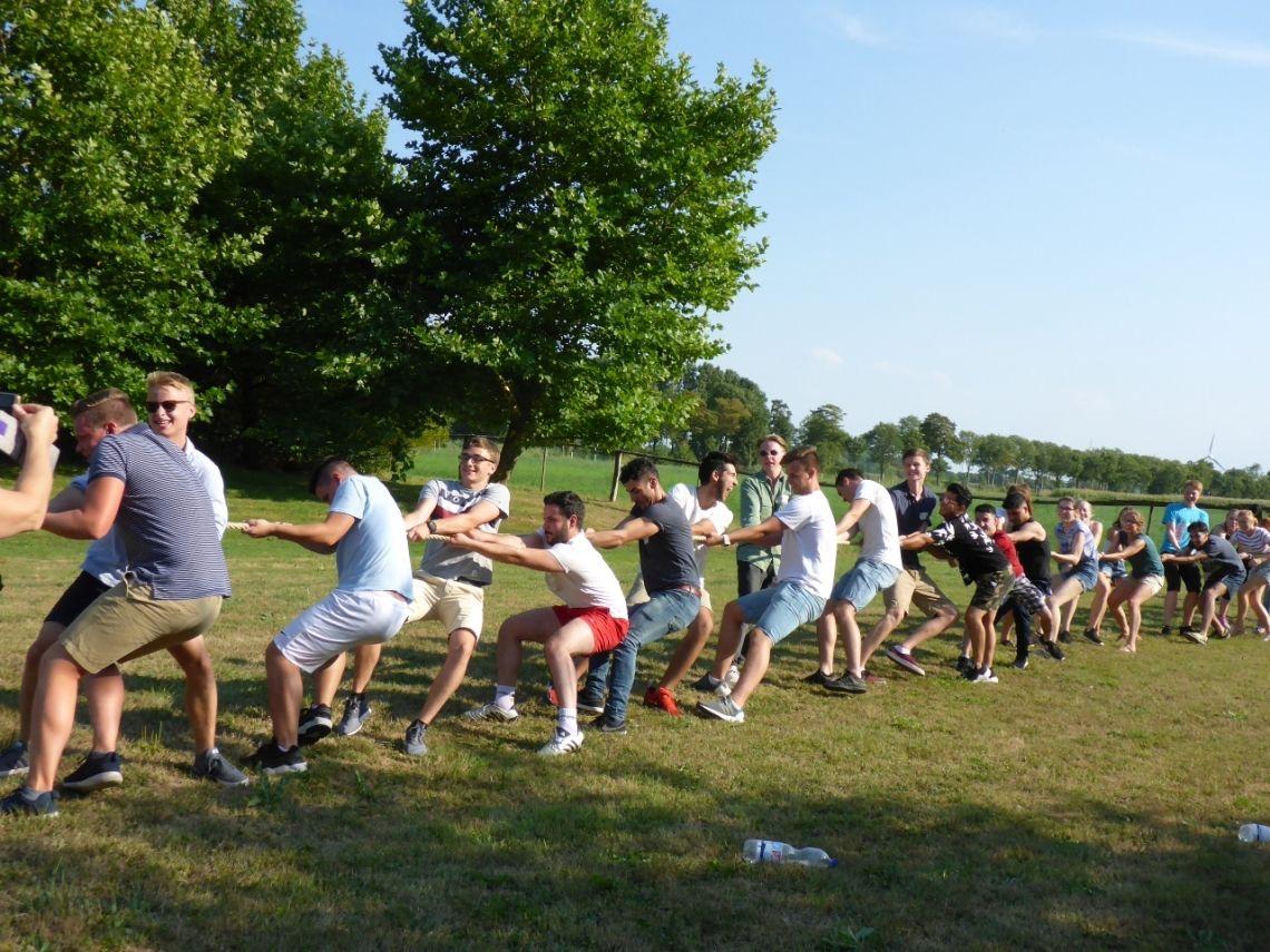 Highland Games - Tauziehen