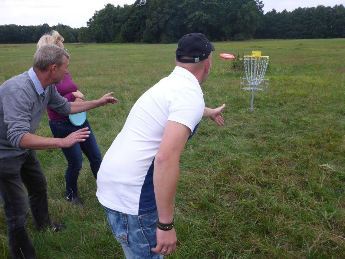 Disc Golf - das wird ein Korbtreffer!
