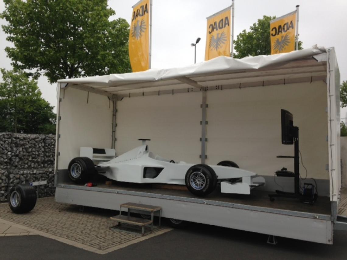 Formel 1 Simulator Formel 1 Simulator oder F1 Boxenstopp