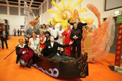 Das Team der ArtistLounge 2011.