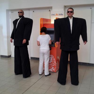 Der Walk-Act Die Gentlemen von foolpool