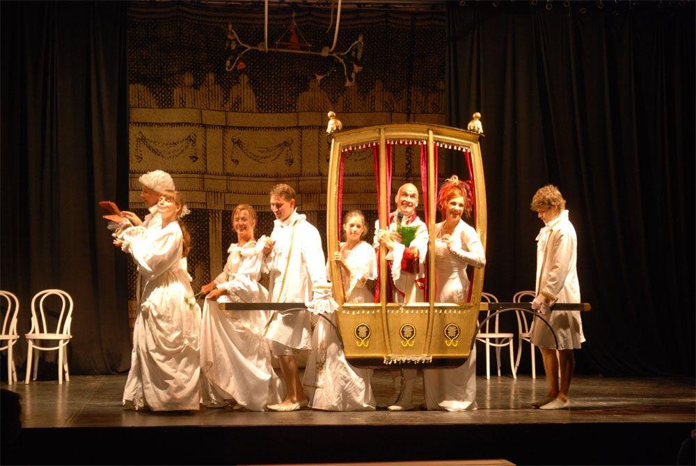 Barock Walkact & Bühnenprogramm – Show Baroque