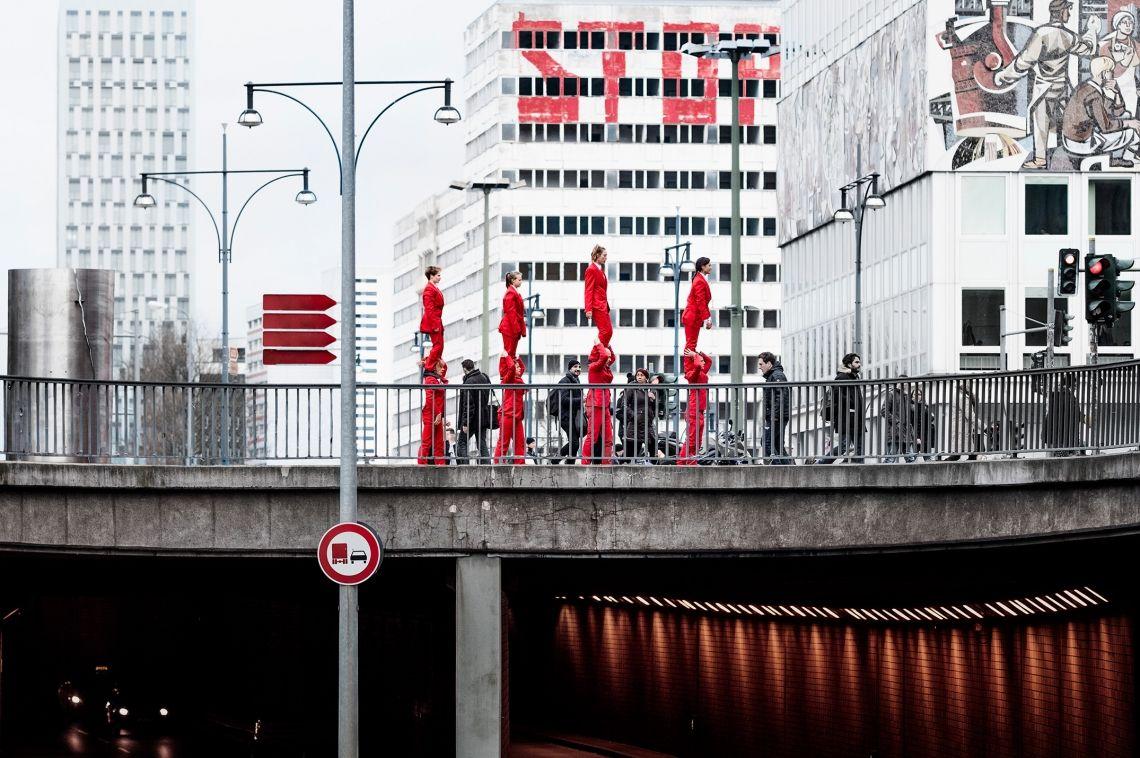 Show Royal die Straßentheater Gruppe