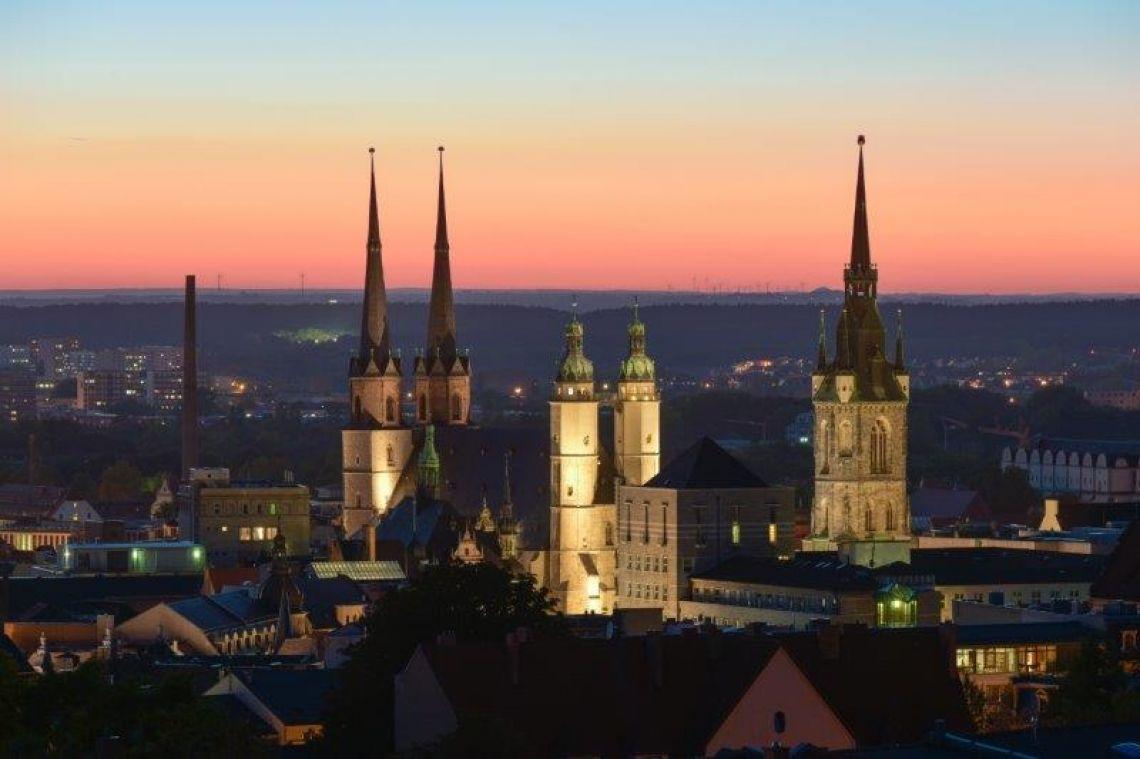 Marktkirche bei Nacht (c) David Köster