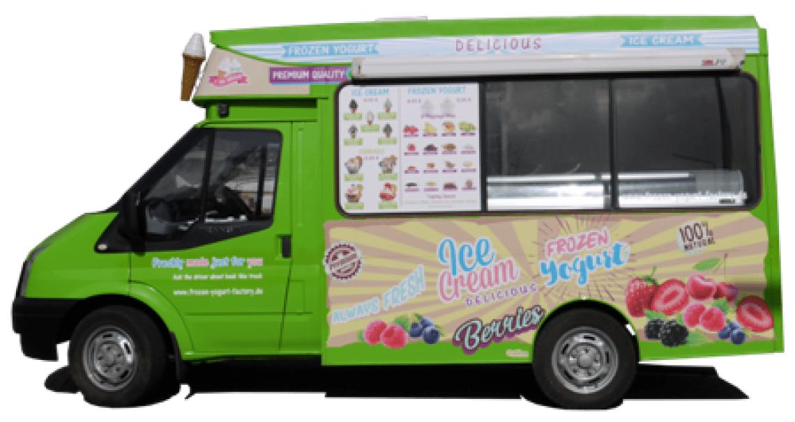 Frozen Yogurt&Ice Cream Truck