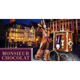 """Monsieur Chocolat – Der Premium-Walk-Act """"Chocotainment mit Gaumenanimation"""""""