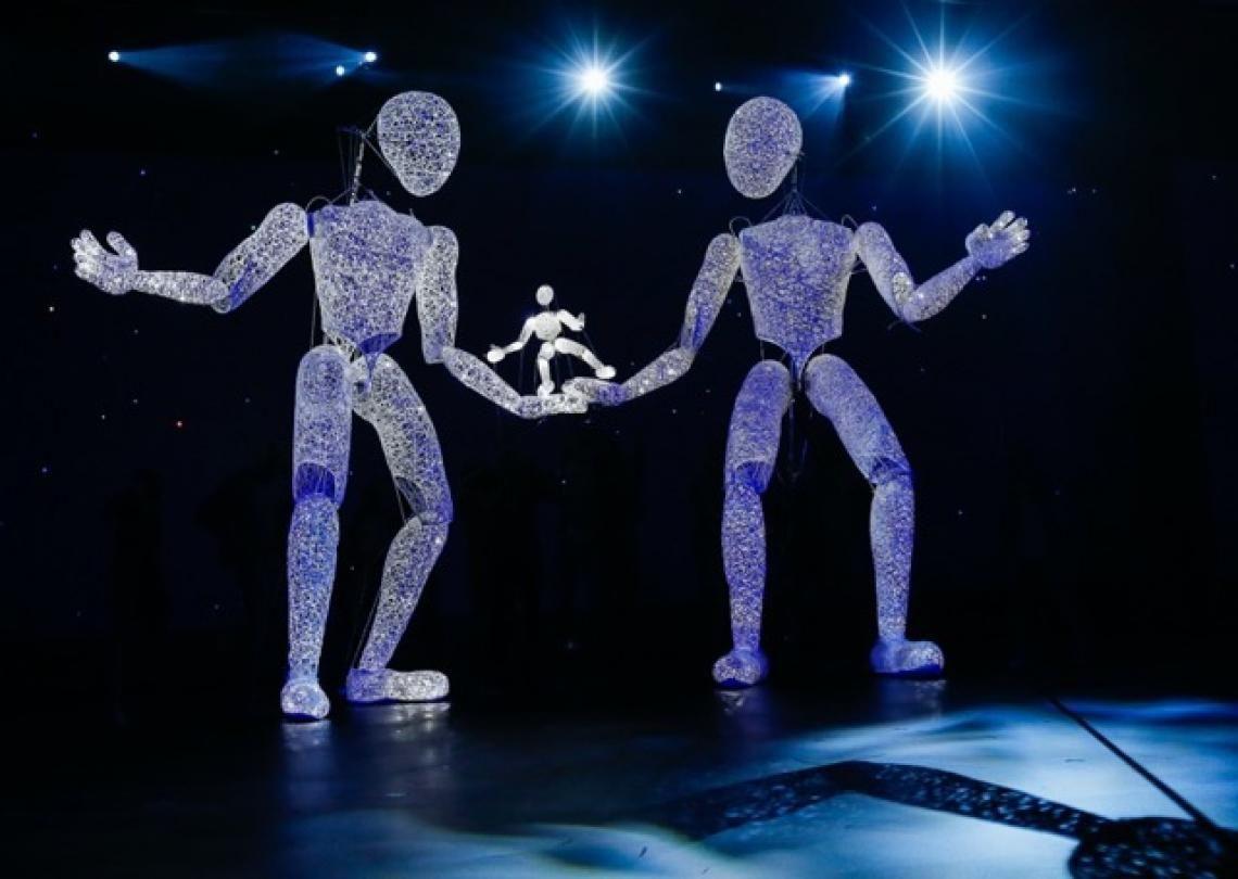 Die DUNDU Familie trifft Dich Der kleine DUNDU mit den leuchtenden Giganten - Inspiration und das ganz große Bild deiner Veranstaltung. Kommunikation im Raum