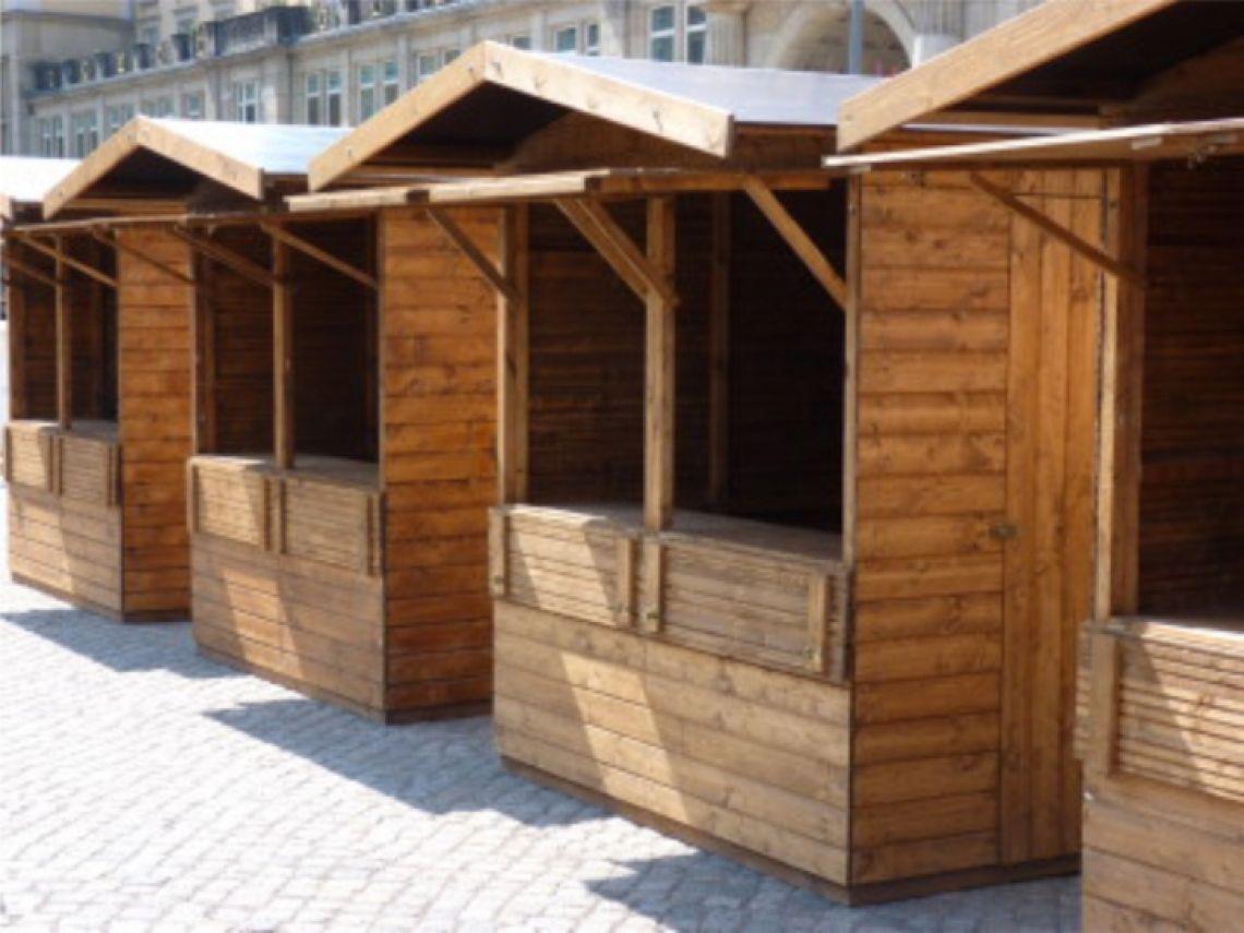 Markthütten - Vielesitig einsatzbar  Markthütten - z.B. für Weihnachtsmärkte, Straßenfeste, Catering , Hoffest usw.