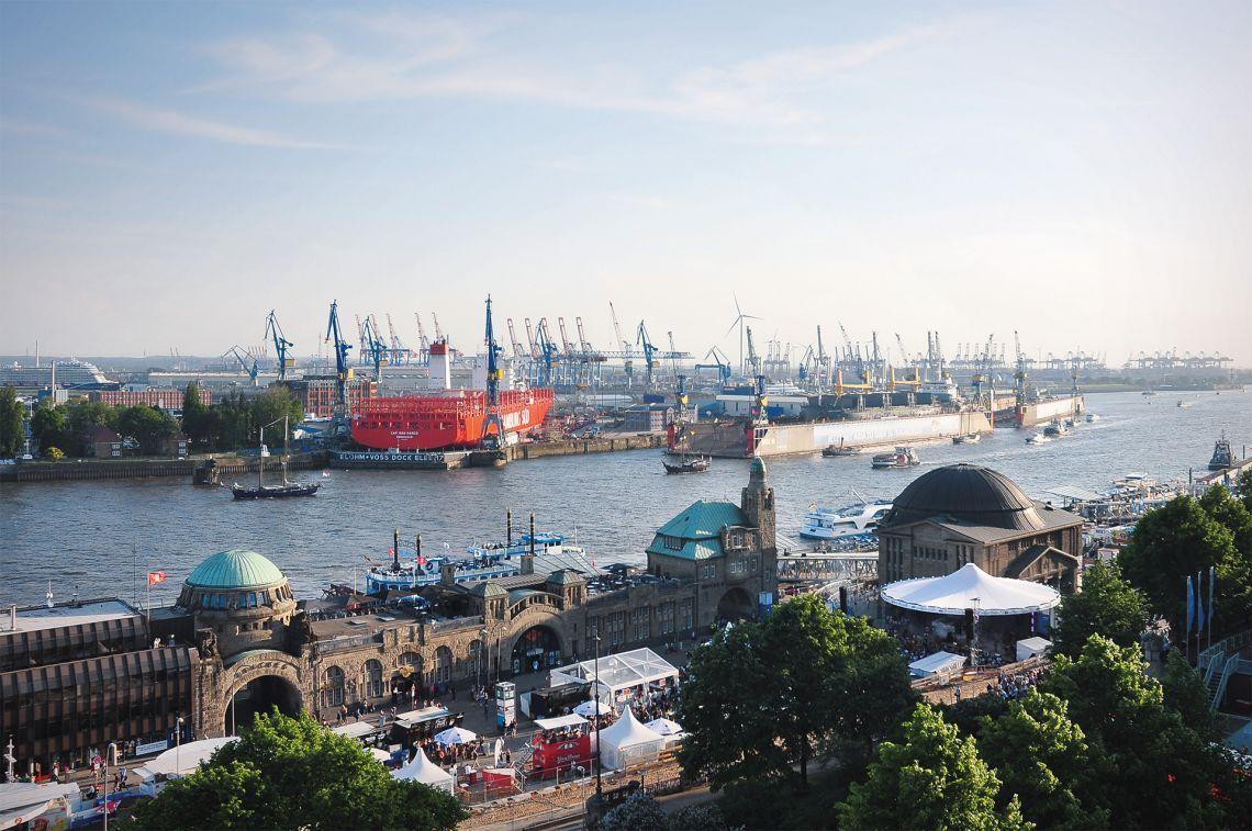 Skyliner sl22 - Hamburg Hafen