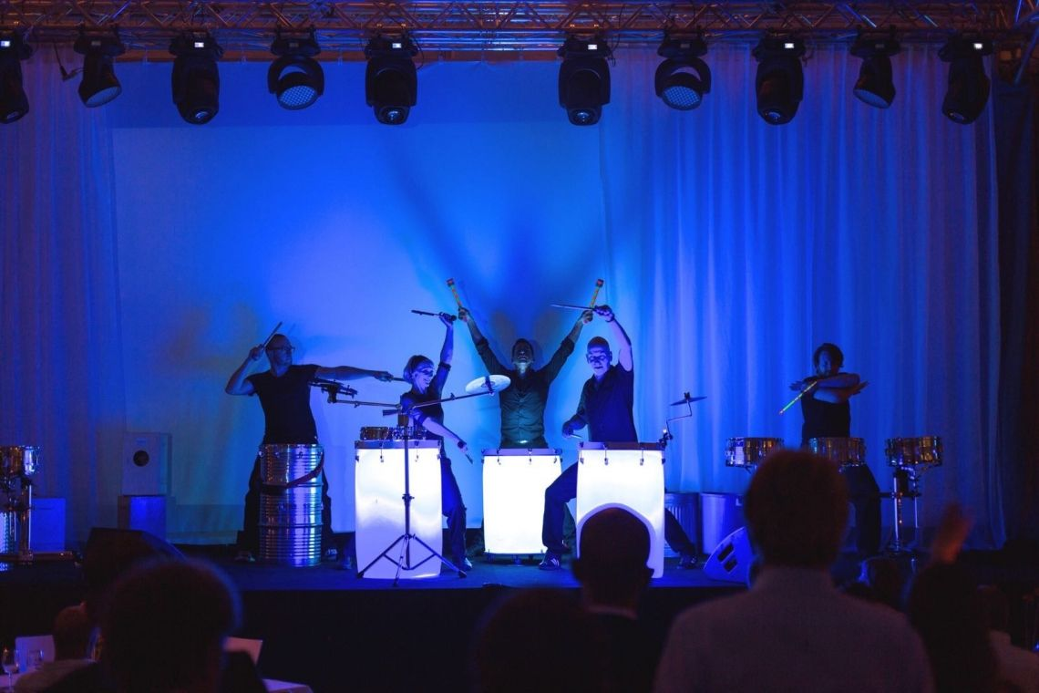 Beats and Noises - LED-Drums Performance