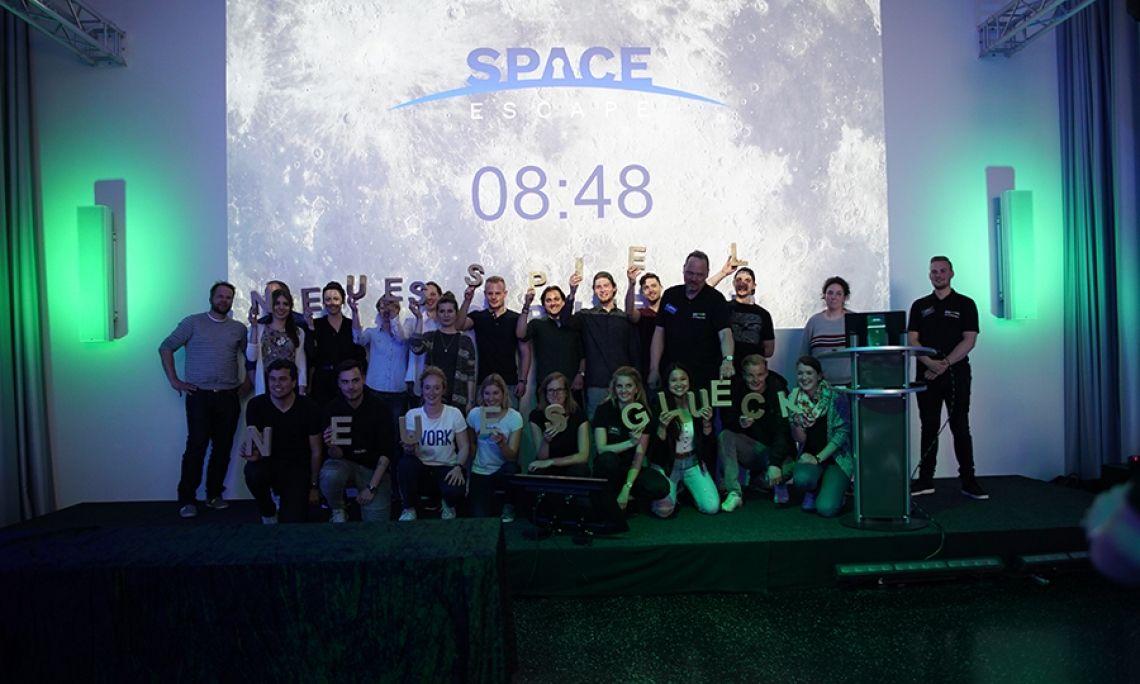 Space Escape Ein unglaubliches Teamerlebnis!