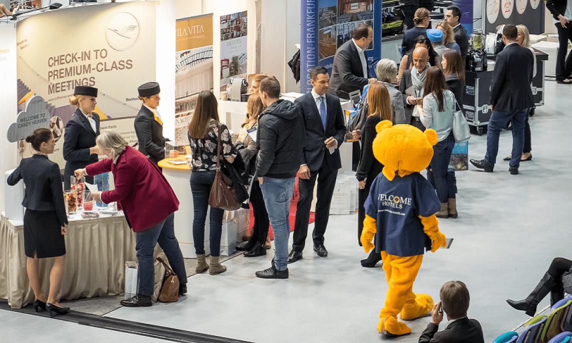 Große Vielfalt auf den LOCATIONS-Messen Über 140 zufriedene Aussteller präsentieren die Vielfältigkeit der Veranstaltungsbranche in der Region Rhein-Main.